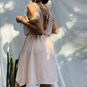 F21 Rose Pink Flowy Dress
